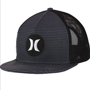 Hurley SnapBack baseball hat 🧢 motion stripe